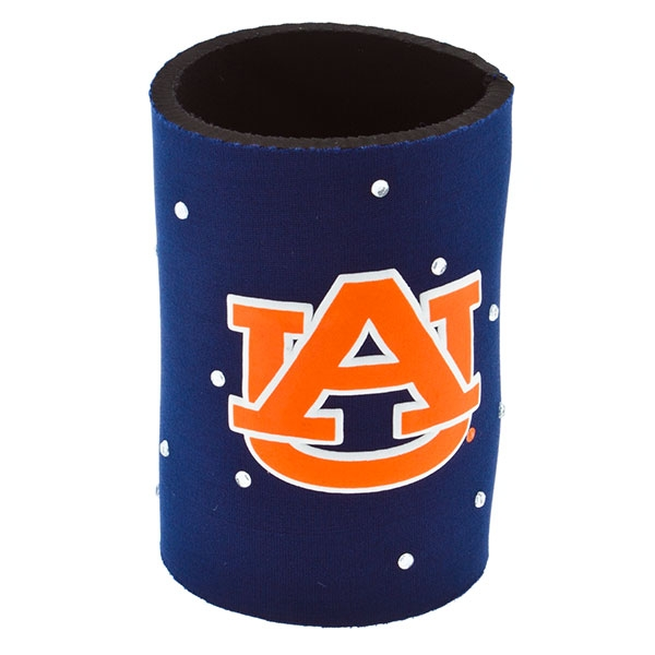 The drink hugger for her - featuring the officially licensed Auburn logo all dressed up with rhinestones!